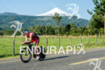 Ben Hoffmann and tghe Villarica volcano at the Ironman 70.3…