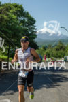 Spain's Marcel Zamora competing on the run at the Ironman…