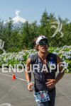 Christian Carletto at the Ironman 70.3 Pucon in Pucon, Chile…
