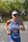 Valentina Carvallo unstopable  at the Ironman 70.3 Pucon in Pucon,…