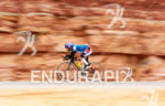 Triathlete in the Arava Valley