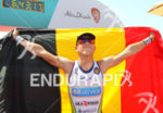 1st Frederik VAN LIERDE (BEL) crossing the finish line