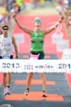 Meredith Kessler winner, 2013 Ironman New Zealand, Lake Taupo New…