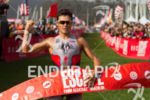 Javier Gomez is victorious at the 2013 Escape from Alcatraz…
