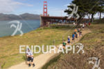 Athletes on the run at the 2013 Escape from Alcatraz…