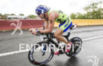 Michael Lovato, USA, at the 2013 Ironman San Juan 70.3…