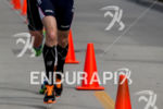 Andy Potts on run at the  Ironman 70.3 California on…