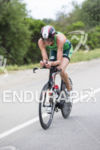 Heather Wurtele, CAN, on the bike at the 2013 Ironman…