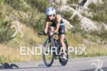Lesley Paterson, USA, on the bike at the 2013 Ironman…