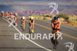 Brent McMahon on bike at the  Ironman 70.3 St. George…