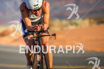 Mathias Hecht on bike at the  Ironman 70.3 St. George…