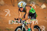 Charisa Wernick on bike at the  Ironman 70.3 St. George…