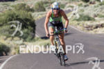Charisa Wernick climbs out of Snow Canyon at the  Ironman…