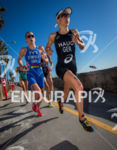 Anne Haug (GER) on run at the 2013 ITU World…