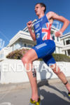 Alistair Brownlee (GBR) runs in front at the 2013 ITU…