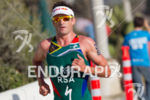 Richard Murray (RSA) on run at the 2013 ITU World…