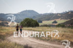 Jesse Thomas and Leon Griffin on the trail run at…