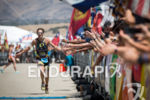 Jesse Thomas celebrates his third victory at the Wildflower Triathlon…