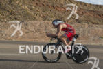 Ben Hoffman at the  Ironman 70.3 St. George on May…
