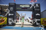 Heather Jackson celebrates victory while winning the women's elite category…