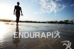Athlete before the swim start at the Thomas Cook Ironman…