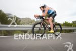 Andrew Starykowicz on the bike at the Thomas Cook Ironman…