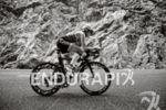 Sofie Goos on the bike at the Thomas Cook Ironman…