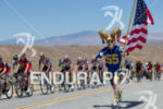 Antler fan finds the peloton in hills outside Palmdale during…