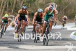 Sergio Sarmiento (MEX) on bike at the 2013 Huatulco ITU…
