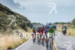 The peloton ascends Highway One in the eighth and final…