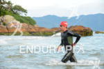 Timothy O'Donnell exits the water course at 2013 Ironman Brazil…