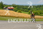 Uphill in West Virginia countryland at the 2013 Race Across…