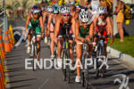 Junior female pack riding at 2013 Vila Velha ITU Triathlon…
