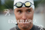 Andreas Raelert before the swim at the Ironman Austria in…