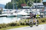 Richard Whitfield on the bike at the Ironman Austria in…