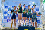 Female elite podium at 2013 Vila Velha ITU Triathlon Pan…