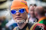 Matt Chrabot (USA) prepares for the swim at the 2013…