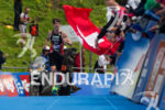 Sven Riederer finishies third at the 2013 World Triathlon Series…