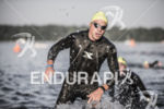 Pro men exiting water at the 2013 Ironman Muncie 70.3…