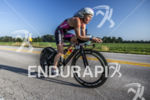 Magali Tisseyre riding her Argon 18 at the 2013 Ironman…