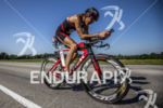 Donna Phelan riding her Trek at the 2013 Ironman Muncie…
