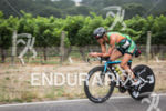 Linsey Corbin chasing down the leaders on the bike at…