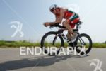 James Cunnama on the bike at the DATEV Challenge Roth…