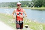 Timo Bracht on the run at the DATEV Challenge Roth…