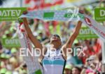 Dirk Bockel at the finish line at the DATEV Challenge…