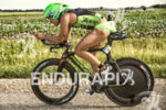 Tim Reed riding comfortably at the 2013 Ironman Racine 70.3…
