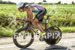 Andrew Starykowicz riding hard at the 2013 Ironman Racine 70.3…