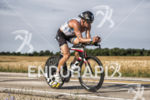 Tyler Butterfield on his bike at the 2013 Ironman Racine…
