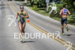 Jenna Parker running down the competition at the 2013 Ironman…