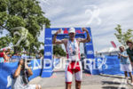 Martin Jensen finishes first at the 2013 Ironman Racine 70.3…